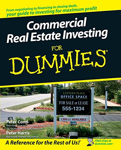 Commercial Real Estate Investing for Dummies (For Dummies Series)