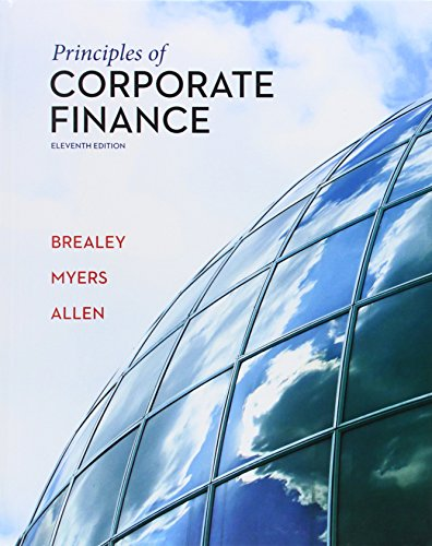 Principles of Corporate Finance (The Mcgraw-hill/Irwin Series in Finance, Insureance, and Real Estate)