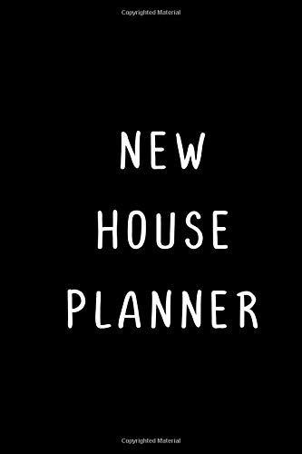 New House Planner: House Hunting Journal